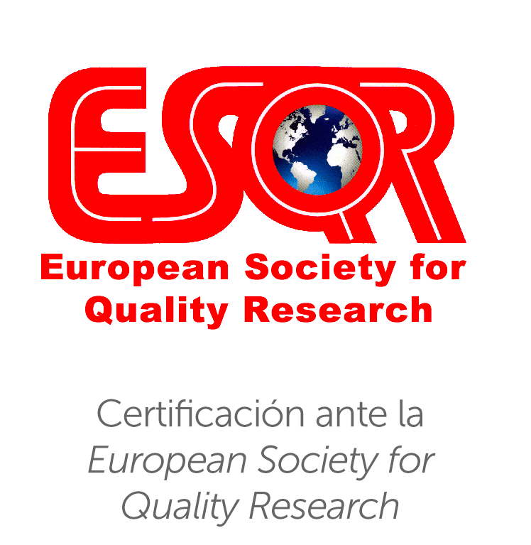 Certificación ante la European Society for Quality Research